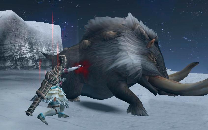 ラスタに狩らせてみよう☆大猪ドスファンゴを撲殺編