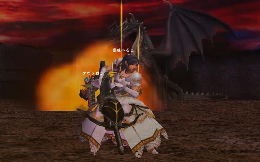 純白ドレスで邪龍退治☆黒龍ミラボレアス